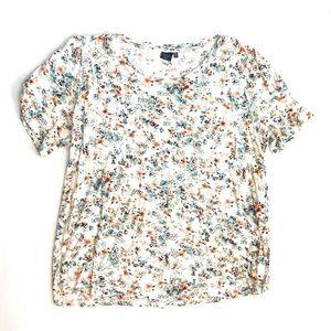 Kaari Blue floral shirt